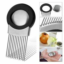 Légumes Titulaire trancheuse oignon Holder Slicer Vegetable Tool Tomate Cutter
