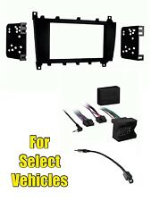 Double Din Kit Combo for some 2005-2007 Mercedes C230 C280 C320 CLK320 CLK500