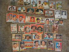 Chicago White Sox Cards,1953-1961,Bowman 53-55TV,Topps 54-61,Jim Rivera Novelty+
