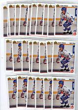 1X TEEMU SELANNE 1991-92 Upper Deck #21 Rookie RC MINT Ducks Jets Bulk Lot Avail