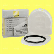 Genuine Nikon 62mm Neutral Color NC Filter Lens Protector Clear Filter 62 mm