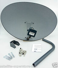 Sky Satellite Dish Zone 2 & Quad LNB X5  4 Sky / Freesat or Hotbird & 19.2 Astra