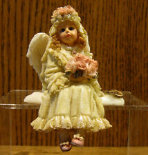 """Boyds Wee Folkstones Angels 36103 FELICITY ANGELBLISS...BRIDES ANGEL 4"""""""