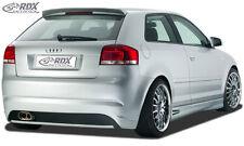 RDX Stoßstange Audi A3 8P Heck Schürze Hinten Spoiler Diffusor
