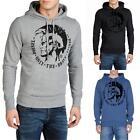 Diesel Scentyn-S Herren Only The Brave Hoody Pullover Hoodie Kapuze Sweatshirt