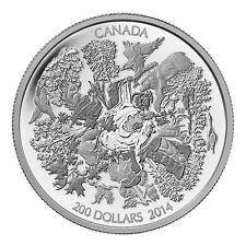 2 oz Silber 200 Kanada Dollar Forest of Canada 2014 im Etui - Tauschaktion