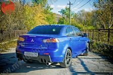 MvTuning Rear Roof Spoiler Shark Fin Vortex for Lancer X 10 - 2007-2016