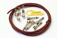 Evidence Audio SIS Solderless Patch Cable Kit 10 Plugs 5 ft Monorail New