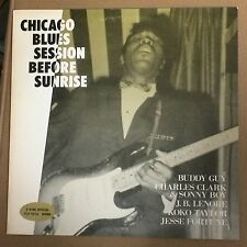 Chicago Blues Session Before Sunrise - Buddy Guy, J.B.Lenoir P-Vine Mono JP rare