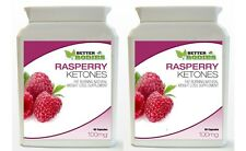 2 x 90 Raspberry Ketone BOTTLES Weight Loss Diet Supplement Capsules