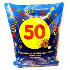 50x Large Punch Balloons Children's Birthday Party Bag Pinata Fillers Toy
