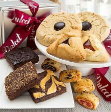 Dulcet Mishloach Manot Kosher Hamatash Purim Gift Basket- Hamantash Walnut Fudge