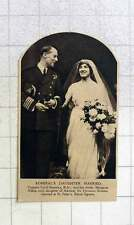 1919 Capt Cecil Staveley And His Bride Margaret Adela Marry At St Peters