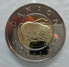 2006 CANADA TOONIE PROOF-LIKE TWO DOLLAR DOUBLE DATE 1996-2006 COIN - A