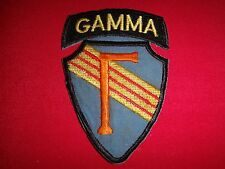 US 5th Special Forces Group SFOD B-57 Project GAMMA - Vietnam War Patch