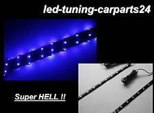 Set LED Strips 60cm Blue Engine Compartment Footwell Interior Lighting VOLVO 440