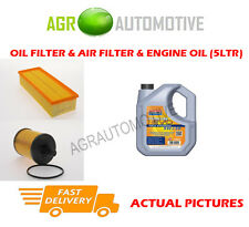 DIESEL OIL AIR FILTER + LL 5W30 OIL FOR SKODA OCTAVIA SCOUT 2.0 140 BHP 2006-10