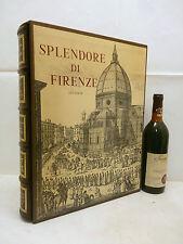 Pecchioli Bargellini: SPLENDORE DI FIRENZE 1968 Editalia In Folio ed num bronzo
