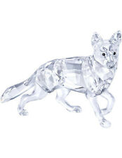 SWAROVSKI GERMAN SHEPHERD DOG BRAND NEW IN BOX #5135912 CUTE CRYSTAL CLEAR F/SH