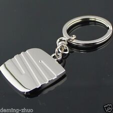 Car Key Chain Metal Single Side Logo Keychain Key Ring FOR SEAT Free Shipping