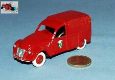 REPLICARS 1/43 (SURMOULAGE DINKY FRANCE) : CITROEN 2CV POMPIERS de PARIS