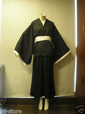 Brand new BLEACH Death Cosplay Costume Shinigami Kimono Specifications