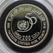 Morocco 200 Dirhams, 1995, 50th Anniversary of United Nations