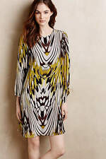 STUNNING ANTHROPOLOGIE SARITA SWING DRESS SILK SZ 4