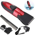 Washable Rechargeable Electric Hair Clipper Beard Trimmer Cutting Machine Kit