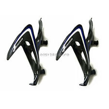 2pcs BLACK * BLUE + WHITE  IDIO UD Carbon Water Bottle Cage BIKE MTB ROAD