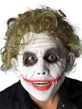 Joker Foam Latex Mask Batman Dark Knight Clown Villain Adult Costume Accessory