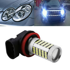 DC 12V H11 2835 63 LED 6000K Car Projector Fog Driving Light Bulb White New
