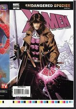 X-Men 200 Variant COVER PROOF GAMBIT Art 2007 2nd Print Chris Bachalo Alternate
