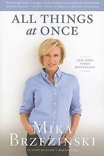 All Things at Once - New - Brzezinski, Mika - Paperback