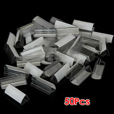 50pcs Plastic  Table Skirt Skirting Clips 2-4cm Wedding Party ED