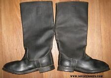 Rare Antique WW2 Sole Military Soviet Russian Soldier Jack Boots 44 USSR
