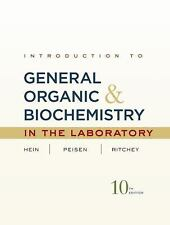 Introduction to General, Organic, and Biochemistry in the Laboratory, Ritchey, J