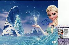 Idina Menzel In-Person Signed 11x14 Photo JSA COA #P80527 Frozen Let It Go Elsa