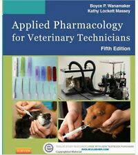 Applied Pharmacology for Veterinary Technicians by Kathy Massey 2015 5e