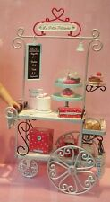 AMERICAN GIRL DOLL GRACE PASTRY CART FEDEX SHIP GRACE THOMAS COMPLETE SET BNIB