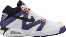 DS Nike Air Tech Challenge III 3 White Purple Orange Agassi OG 749957 102 sz 9.5