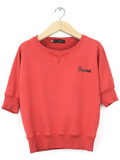Dsquared2 Womens Coral Short Sleeved Sweat Size S (UK 8)