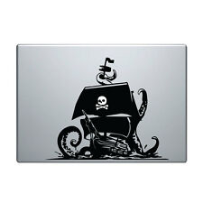 "Macbook Aufkleber Sticker Decal skin Air Pro 11"" 13"" 15"" 17"" pirat schiff boot 2"