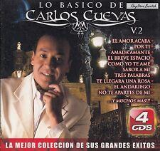 Carlos Cuevas Los Basico Vol 2  4CD Caja De Carton New Nuevo Sealed