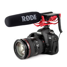 Rode VideoMic R On Camera Mic with Lyre Mount - Studio Quality Microphone (RØDE)