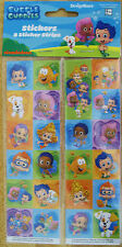 BUBBLE GUPPIES STICKERS*8  STRIPS*New Sealed**Sale***