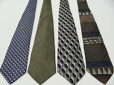 LOT OF 4 - STAFFORD - VINTAGE NECKTIES! ALL AUTHENTIC MADE IN USA!