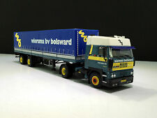 "WSI TRUCK MODELS,DAF 3600 SC 4x2 CLASSIC CURTAIN SIDED TRAILER""WIERSMA""1:50"