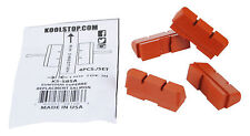Kool Stop bicycle brake pads refills inserts Suntour Superbe (SET OF 4) SALMON
