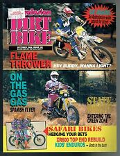 AUSTRALASIAN DIRT BIKE NO 181 0CT0BER 1994 VOL.29 NO.6 CR 250 YZ 125 GAS GAS 250